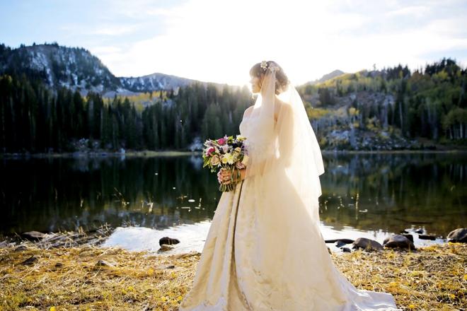 Beautiful Aspen bride