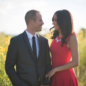 Beautiful fall engagement shoot