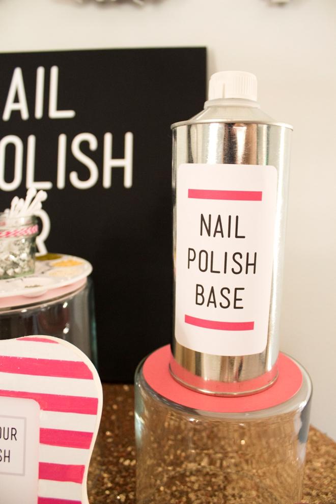 Check Out This Gorgeous Diy Nail Polish Bar