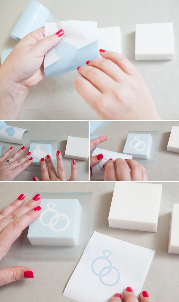 Learn How To Make Diy Stenciled Wedding Soap Favors