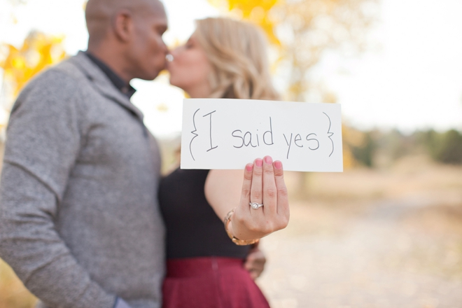 {I said Yes}