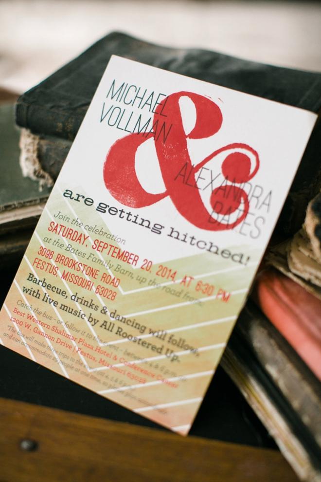 & wedding invitations