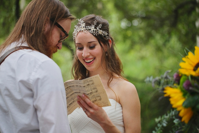 Reading vows