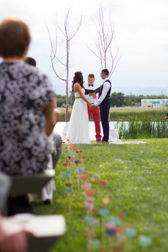 Gorgeous handmade wedding