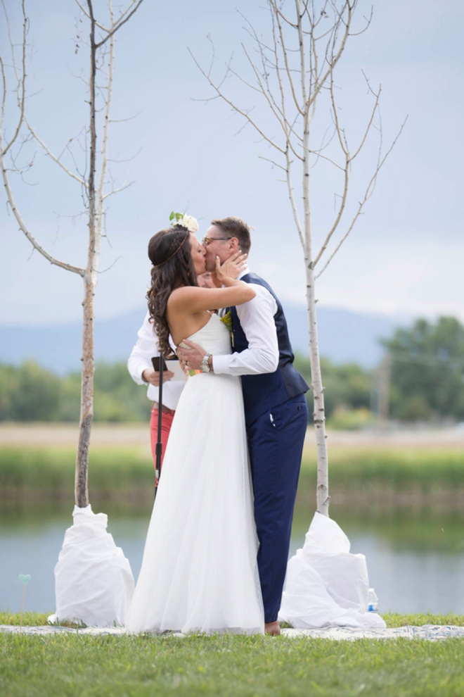 Gorgeous handmade wedding