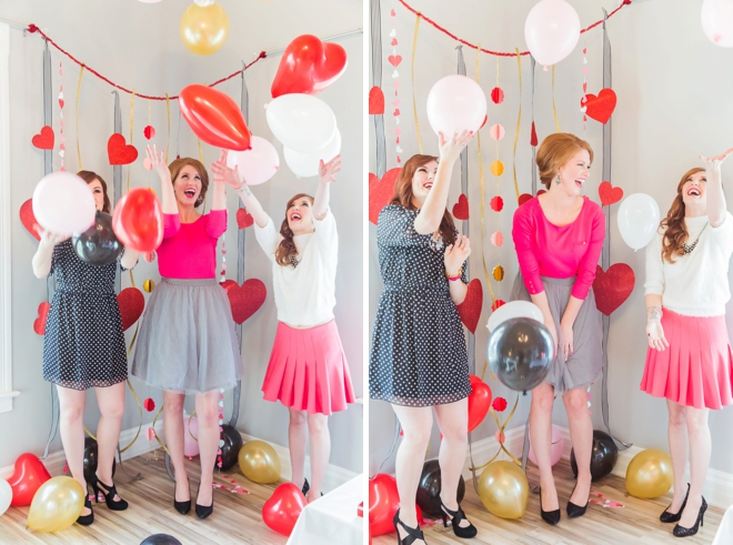 Balloons, pink, photobooth