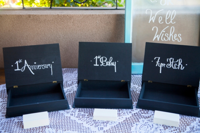 Anniversary, Baby and 7 Year Itch boxes