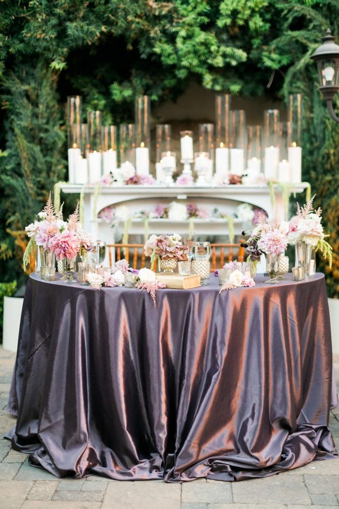 Gorgeous head table