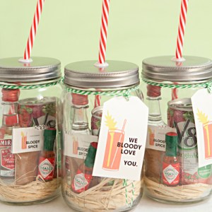 Mason Jar Bloody Mary Gifts