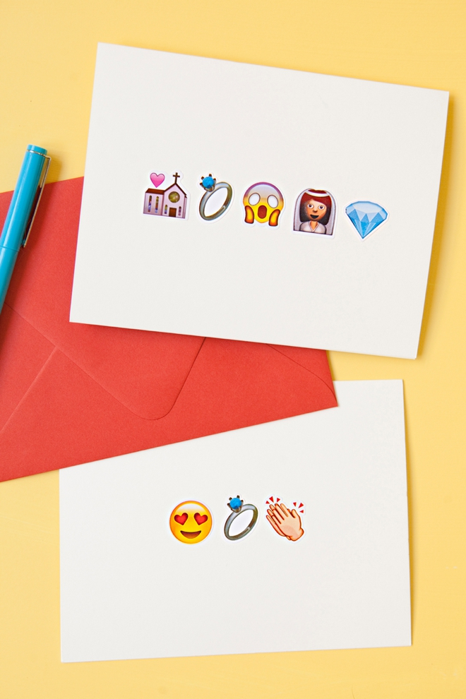 Learn How To Make These Awesome Emoji Greeting Cards!
