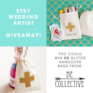 You Could Win 20 Glitter Hangover Bags from Be Collective!