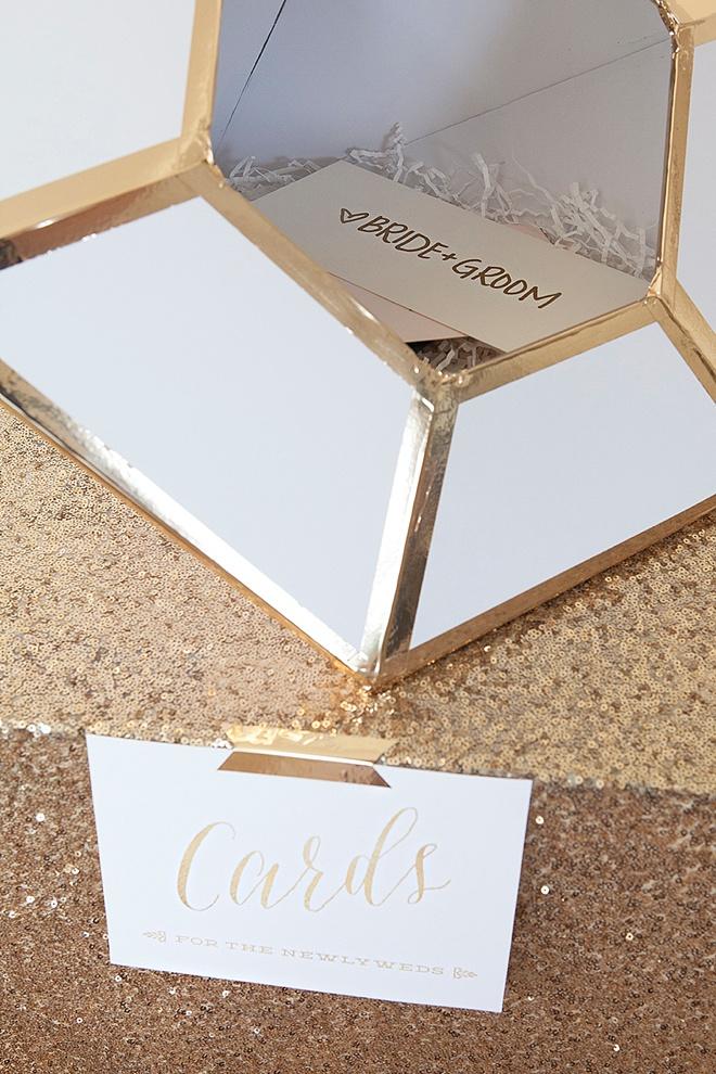 DIY, Giant Diamond Card Box For Weddings!