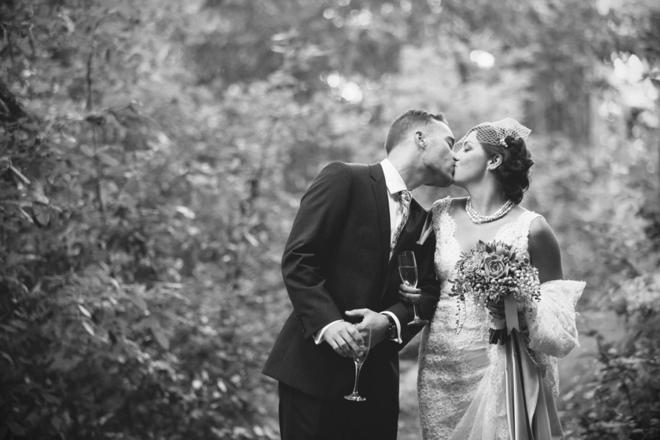 Gorgeous, DIY boho-chic cabin wedding