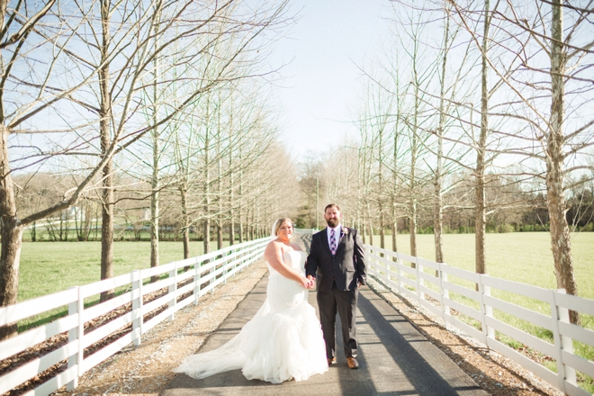 Beautiful, outdoor southern wedding