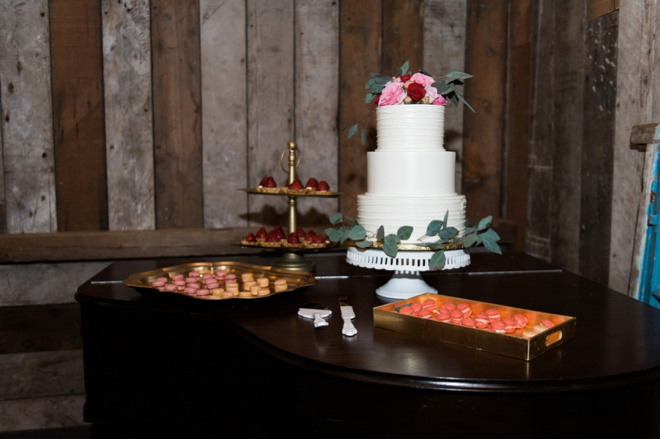 Wedding desserts are the best.