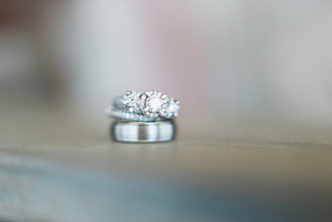 Soft wedding ring shot
