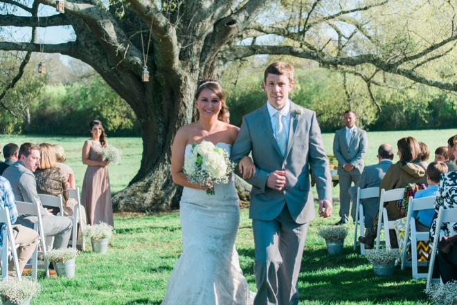 Lovely, DIY rustic wedding at a family farm.