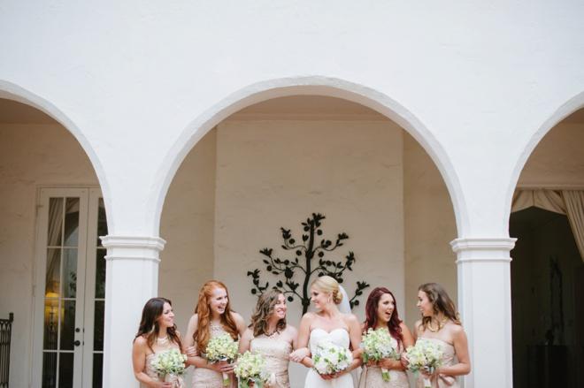 Sweet bridesmaid snap!
