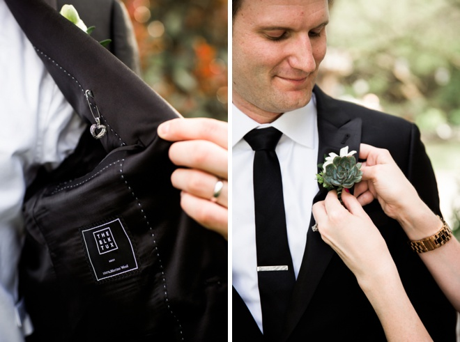 The Blk Tux; groom style