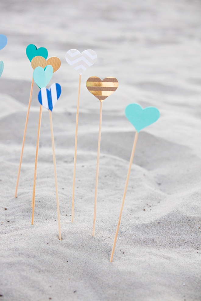 Learn How To Make These Adorable Wedding Aisle Hearts