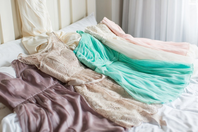 BHLDN bridesmaids dresses.