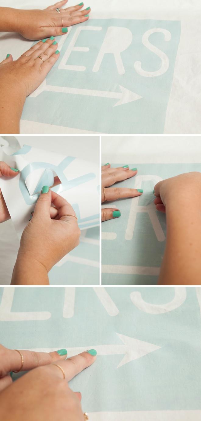 Awesome DIY idea; paint your own custom pillowcases!