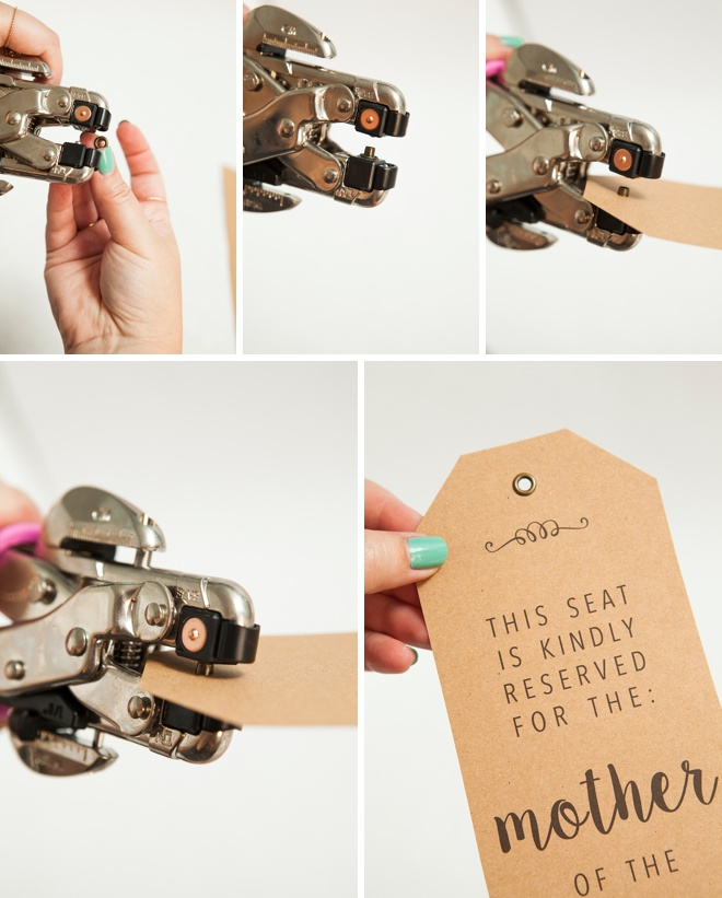 How To Make Your Own Wedding Ceremony Chair Reserved Signs With Free Printables