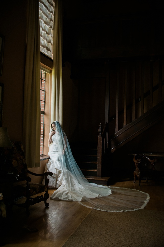 This bride designed and made her own wedding dress - must see!