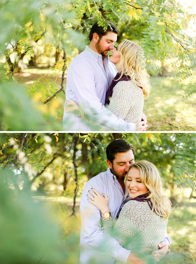 How lovely is this darling engagement session!