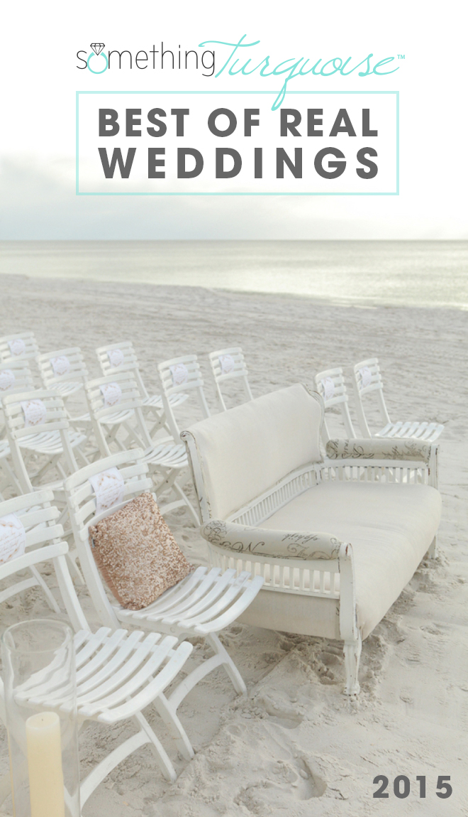 Best Of Real Weddings on Something Turquoise