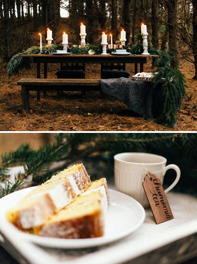 Gorgeous cozy holiday table!