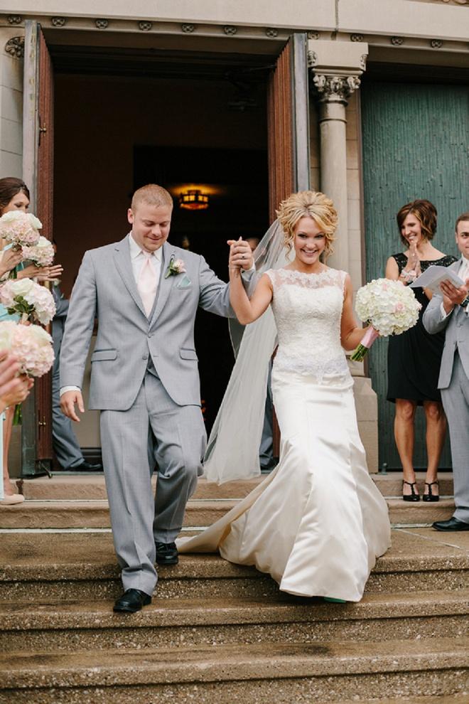 We love this DIY wedding!
