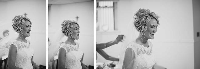 Love this bride's getting ready looks!