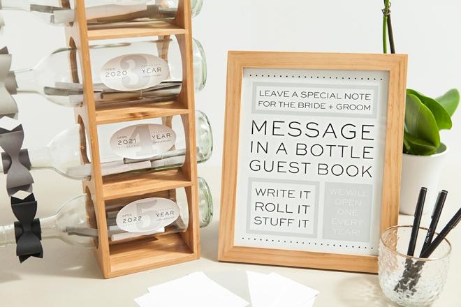 write away labels target wedding