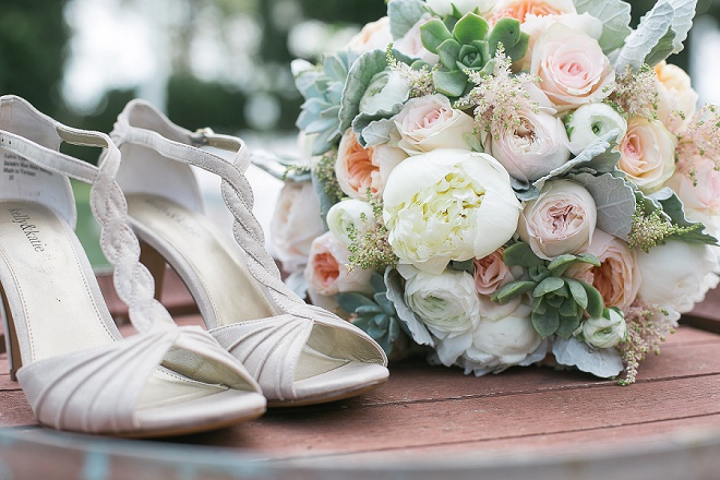 We love this bride's gorgeous details!