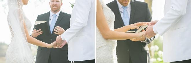 Loving these sweet ceremony photos!