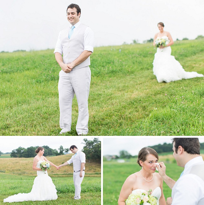 How sweet is this first look?! Swoon!