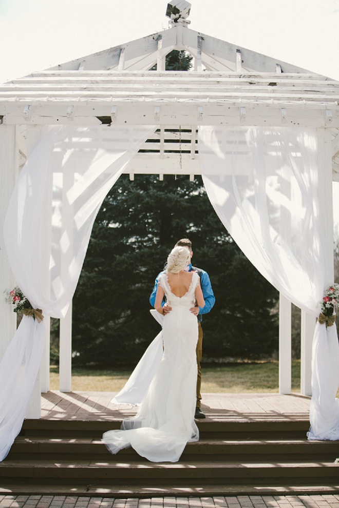 We're loving this gorgeous first look!