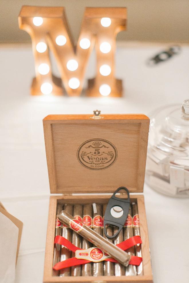 We love this creative cigar bar!
