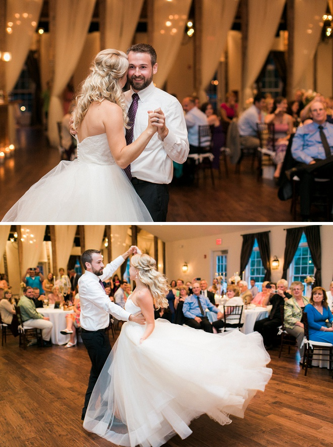 We're loving this darling first dance!