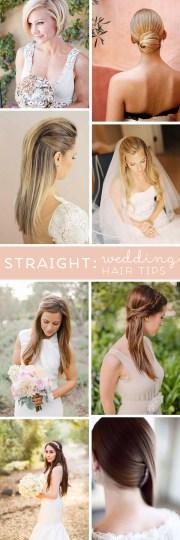 wedding hair tips wearing