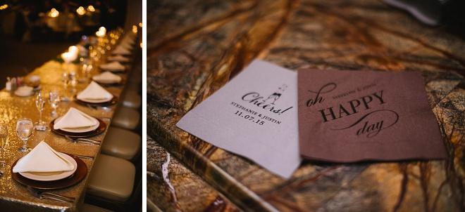 We're loving this DIY winter wedding!