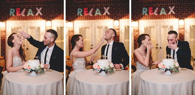 How darling is this cake cutting series?! Love!