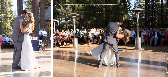 We love this gorgeous first dance!