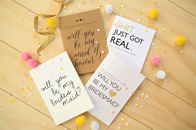 free printable will you be my bridesmaid cards