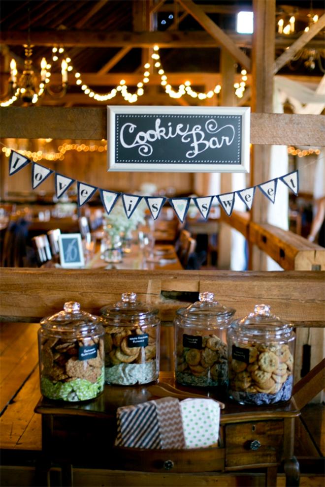 Wedding Cookie Bar