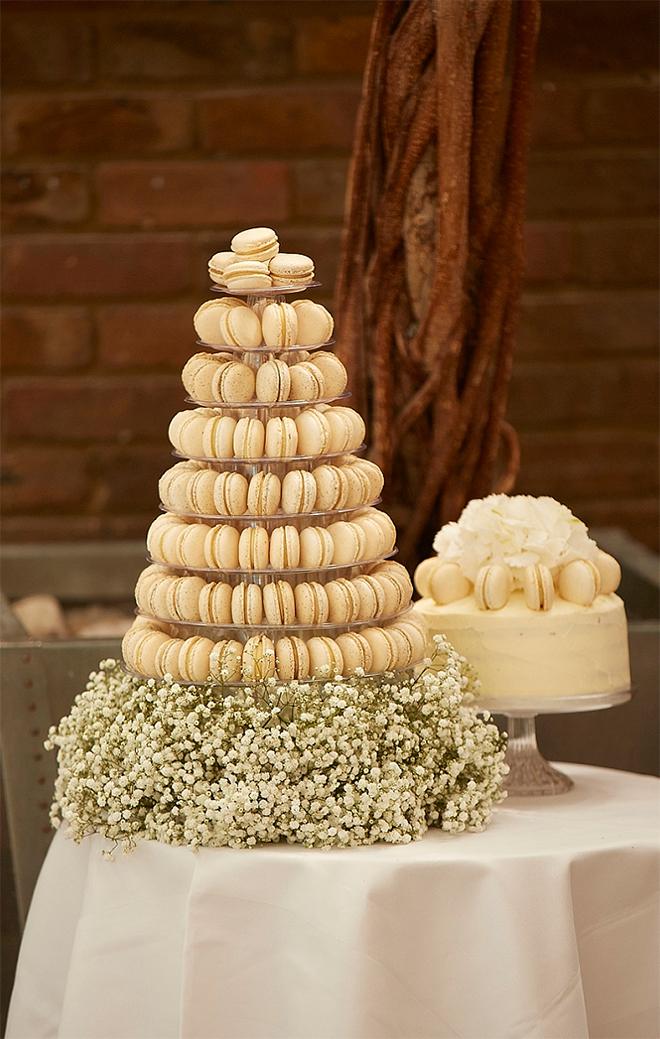Macaron Wedding Cake Tower