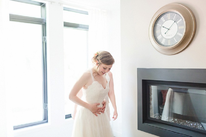 Loving this beautiful Bride's getting ready photos!