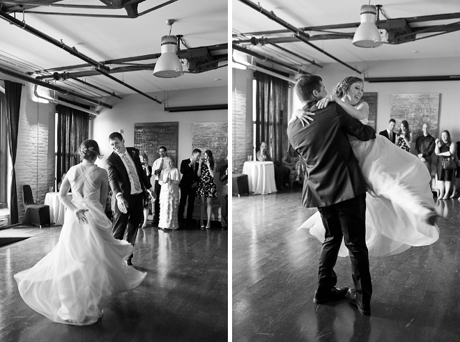 How fun is this all out first dance?! Love it!