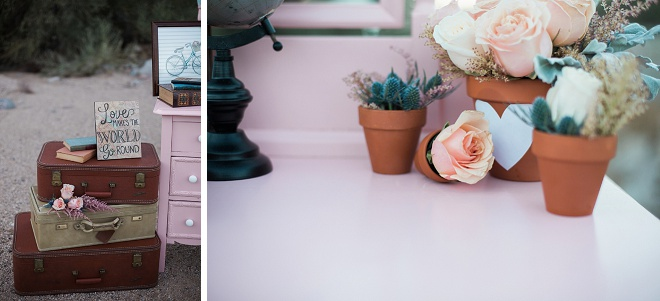 How fun is this retro styled elopement?! Swoon!